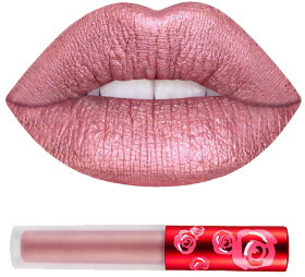Помада METALLIC VELVETINES HAPPI Lime Crime