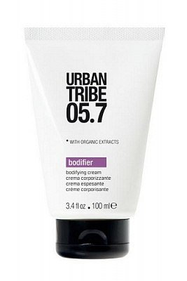 Urban Tribe 05.7 Bodyfier cream крем для укладки дает прическе текстуру, объем, при этом не утяжеляя волосы - 900 руб. купить в MuaClubshop