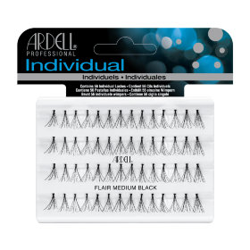 Ardell Dura Lash Knotted Flare Medium Black Пучки ресниц узелковые
