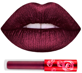 Помада METALLIC VELVETINES RAISIN HELL LIME CRIME