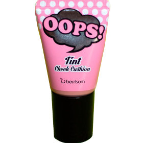 Berrisom румяна OOPS! Tint Cheek Cushion Sugar Pink нежно-розовый
