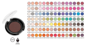 Матовые тени Colour Attack Matt Eyeshadow AFFECT 2,5 гр.