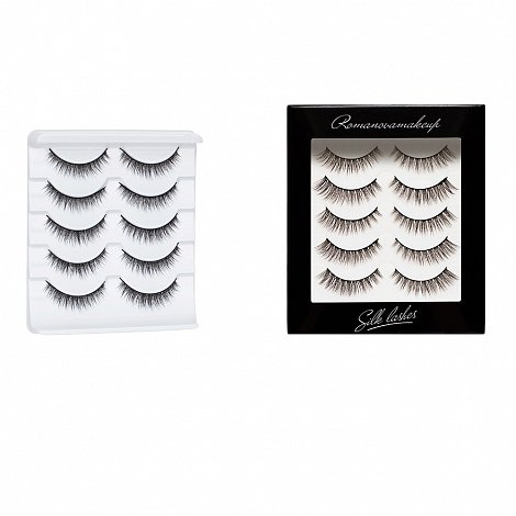 Шёлковые ресницы Silk Lashes ProKit only S-4 Romanovamakeup