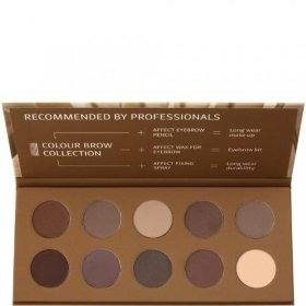 Палетка теней для бровей Colour Brow Collection Pressed Eyebrow Shadows Palette AFFECT 25 г