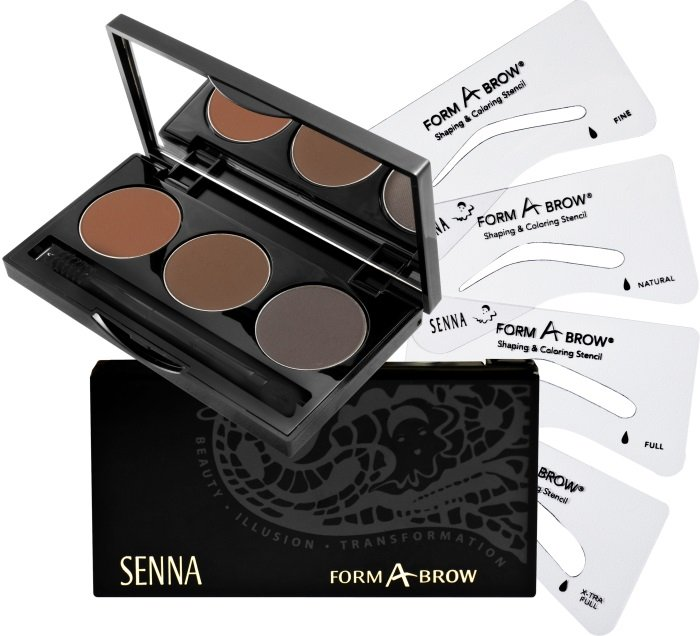 SENNA Form-A-Brow Kit Набор для бровей Dark