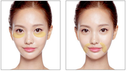 Патчи Secret Key Gold Racoony HydroGel Eye and Spot Patch