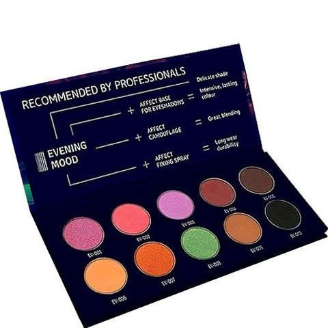 Палетка теней Evening Mood Eyeshadows Palette AFFECT 25 гр.