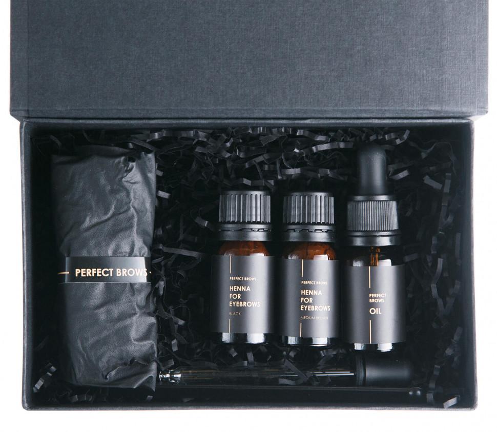 Набор хны для бровей Perfect Brows Zara Brows - 3 990 руб. купить в MuaClubshop