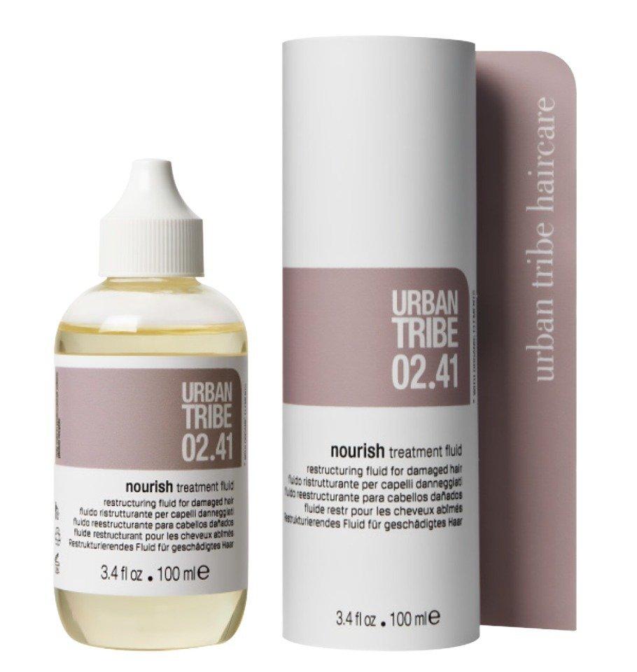 Urban Tribe 02.41 Nourish treatment fluid Восстанавливающий флюид 100 мл - 1 600 руб. купить в MuaClubshop