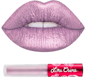 Помада METALLIC VELVETINES MERCURY Lime Crime