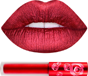Помада METALLIC VELVETINES RED HOT Lime Crime