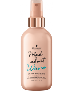 Schwarzkopf Mad About Waves Sea Blend Texturizing Spray - Текстурирующий спрей 200 мл