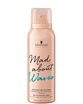 Schwarzkopf Mad About Waves Refresher Dry Shampoo - Сухой шампунь 150 мл